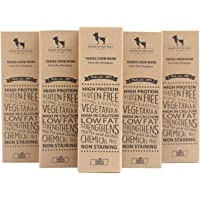 Heads Up for Tails Yak Chew Bone for Dogs Chhurpi Dog Food Treats Medium Healthy Alternative to Raw Hide (Pack of 5)