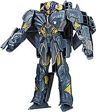 Transformers 5: The Last Knight – 4-Step Turbo Changer – Armor Megatron – Actionfigur 21 cm