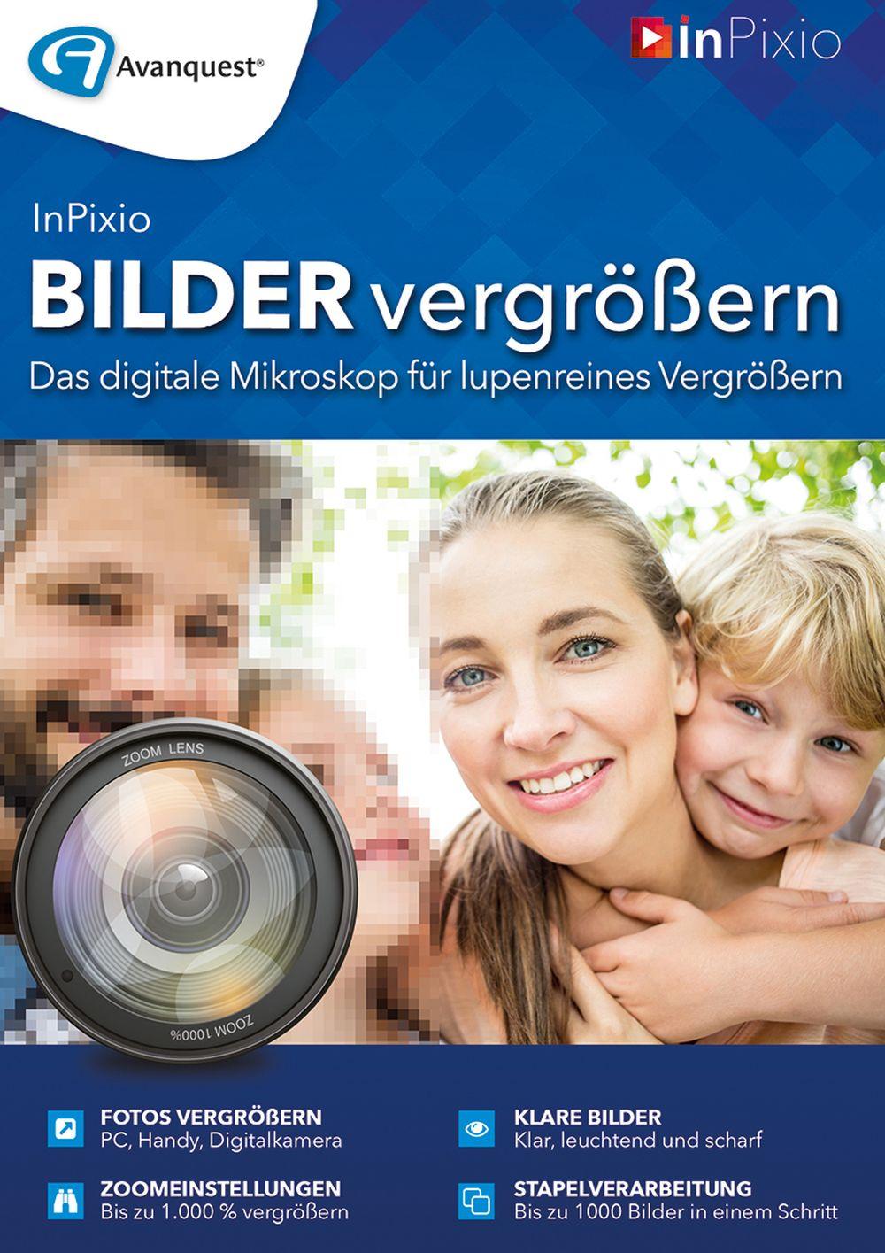 Bilder vergrößern - Das digitale Mikroskop für lupenreines Vergrößern! Windows 10|8|7|Vista [Online Code] (Bilder Software)