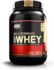 Optimum Nutrition (ON) Gold Standard 100% Whey Protein Powder - 2 lbs, 907 g (Banana Cream)