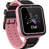 Smooce Smartwatch bambini, Orologio Bambino Telefono con touchscreen da 1,54 pollici, musica MP3, chiamata SOS, gioco, fotoca