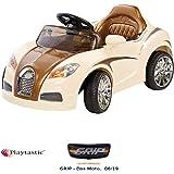 Playtastic Elektro Kinderauto: Edles Elektro-Kinderfahrzeug mit Fernsteuerung (Kinderauto mit Fernsteuerung)