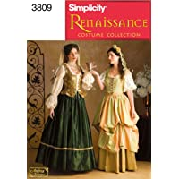 Simplicity Sewing Pattern 3808 U Patrons Costumes pour Femme