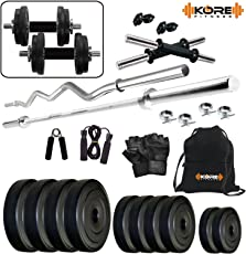 Kore K-22kg Combo 42 Home Gym and Fitness Kit
