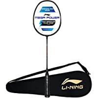 Li-Ning Mega Power Badminton Racquet with Smash Power Frame with Free Full Cover