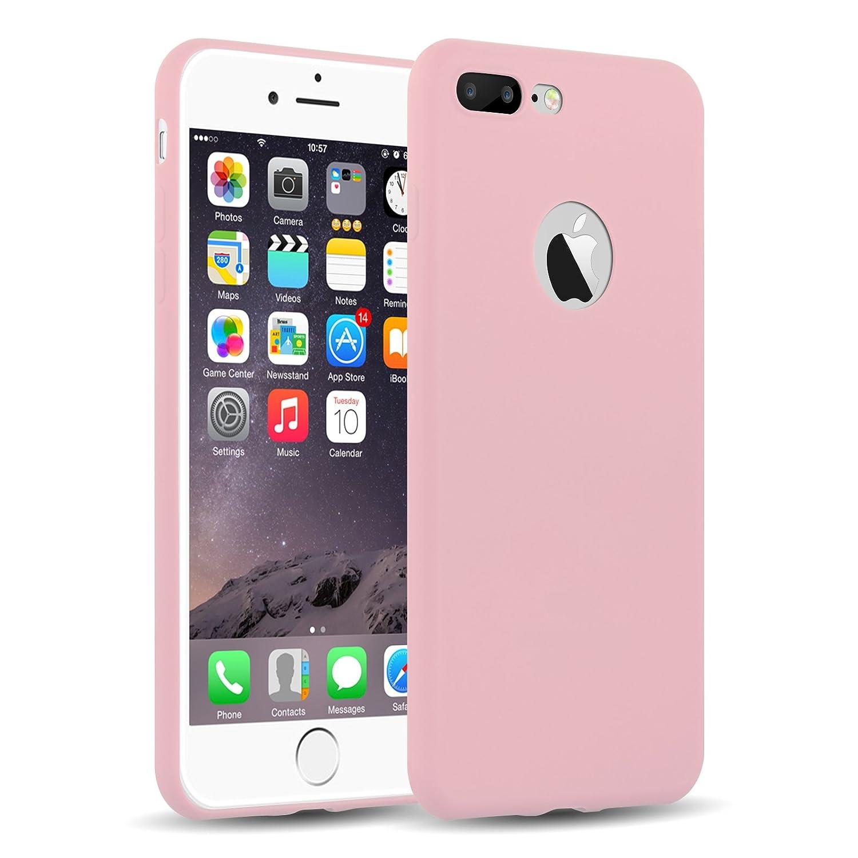 Cover iPhone Siliconata Rosa