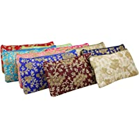 GoldGiftIdeas Trims Vintage Zippered Potli Purse for Women, Potli Bags for Ladies, Ethnic Potli Purse for Party (Set of…