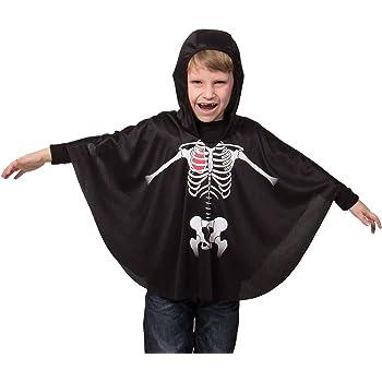 Pegasus Srl Mantello Mantellina Halloween Bambino Bambina ... b31091f90c0