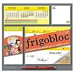 Frigobloc 2020 Hebdomadaire - Calendrier d'organisation familiale par semaine : Le calendrier maxi-aimanté pour se...