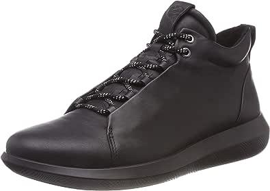 ECCO 450574, Sneaker a Collo Alto Uomo