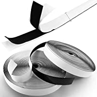 Royalkart Hook & Loop Tape Roll Strips with Adhesive Back Mounting Tape for Picture & Tools Hanging Pedal Board…