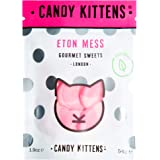 Candy Kittens Eton Mess Vegetarian Sweets - Palm Oil Free, Natural Fruit Flavour Candy - Gummy Chewy Gourmet Sweets, 54g (Pack of 12 Pop Bags)
