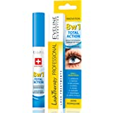 Eveline Cosmetics Multi-Purpose Eyelash Serum Total Action 8in1, 1-pack (1 x 10 ml)