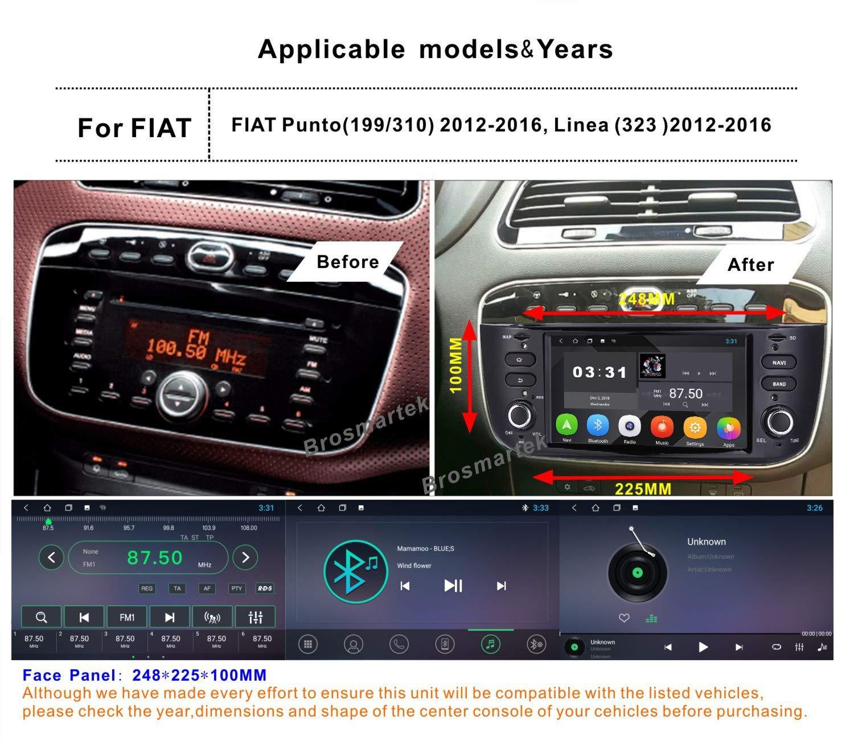Android-81-Autoradio-DAB-eingebaut-System-fr-FIAT-Grande-Punto-Linea-Navigationsgert-GPS-Navigation-untersttzt-Bluetooth-Lenkradsteuerung-Touchscreen-Mirrorlink-Subwoofer