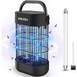 Lampe Anti-Moustique, FOCHEA Piège à Insectes Volants Électrique UV 14W, Destructeur de Moustiques, Moustique Tueur Lampe, Al