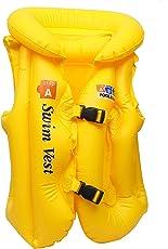 Novicz VEST-JACK-596-1 Swimming Vest Jacket, Kids (Yellow)