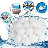 Filtranti per Piscine Ecologica per Filtri di Sabbia 1300g di Pulizia per Piscine Filtro Balls Pool Filtraggio Sand…