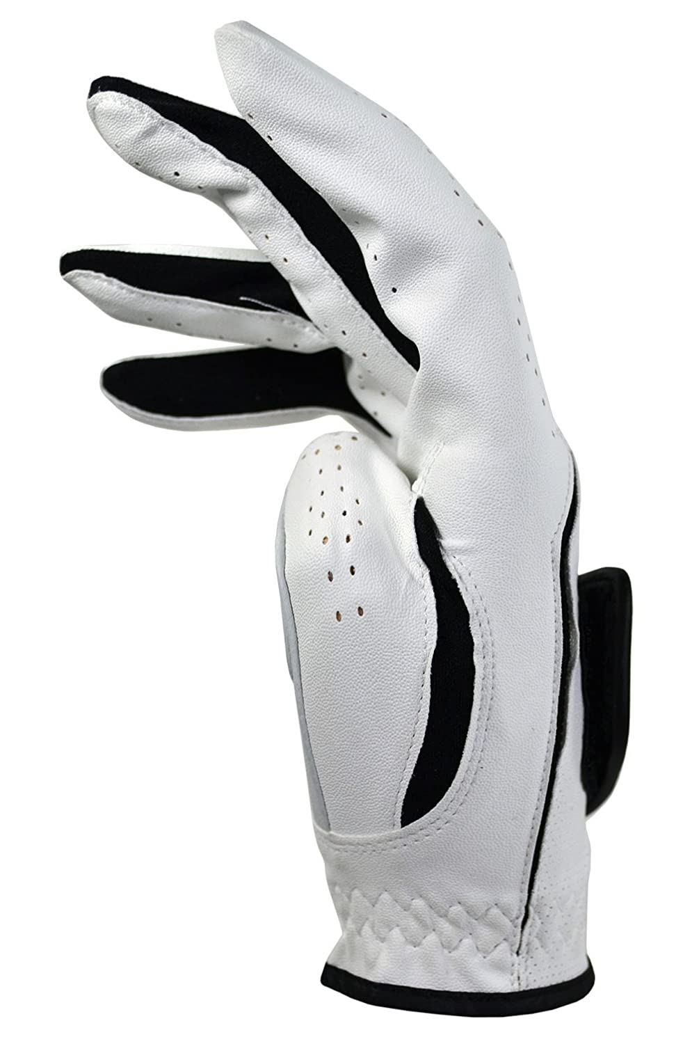 Mens leather gloves tj hughes - Nike Dura Feel Vi Mens Golf Glove White Small Amazon Co Uk Sports Outdoors