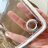Transparant dekzeil PVC Film Waterdicht Gordijn Gazebo Beschermende Geteerd zeildoek Hout Dekzeil Winter Weerbestendig Stof D