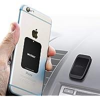 WUTEKU Support magnétique de téléphone pour Voiture avec aimants pour Tenir des téléphones comme iPhone XR, XS, X 8, 7…