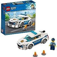 LEGO City Police Auto di Pattuglia della Polizia, Macchina Giocattolo con Minifigure del Poliziotto, Giochi per Bambini…