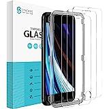 Syncwire Screen Protector compatibel met iPhone 8/7/6s/6 - [3-Pak] [Eenvoudige Installatie, Luchtbelvrij, 3D-Touch] HD 9H Har