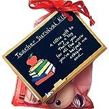 Bagsoflove Gifts Teacher Survival Kit - Unique Gift For Teacher End Of Term