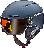 HEAD Knight Pro Skihelm, Nightblue, 54-57 cm