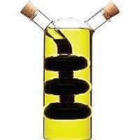 Kitchen Craft World of Flavours   Bottiglia di Vetro 2 in 1 per Olio e aceto