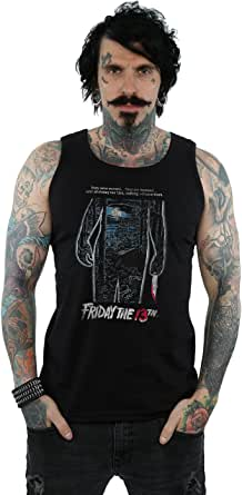 Friday 13th Homme Distressed Poster Tank Top