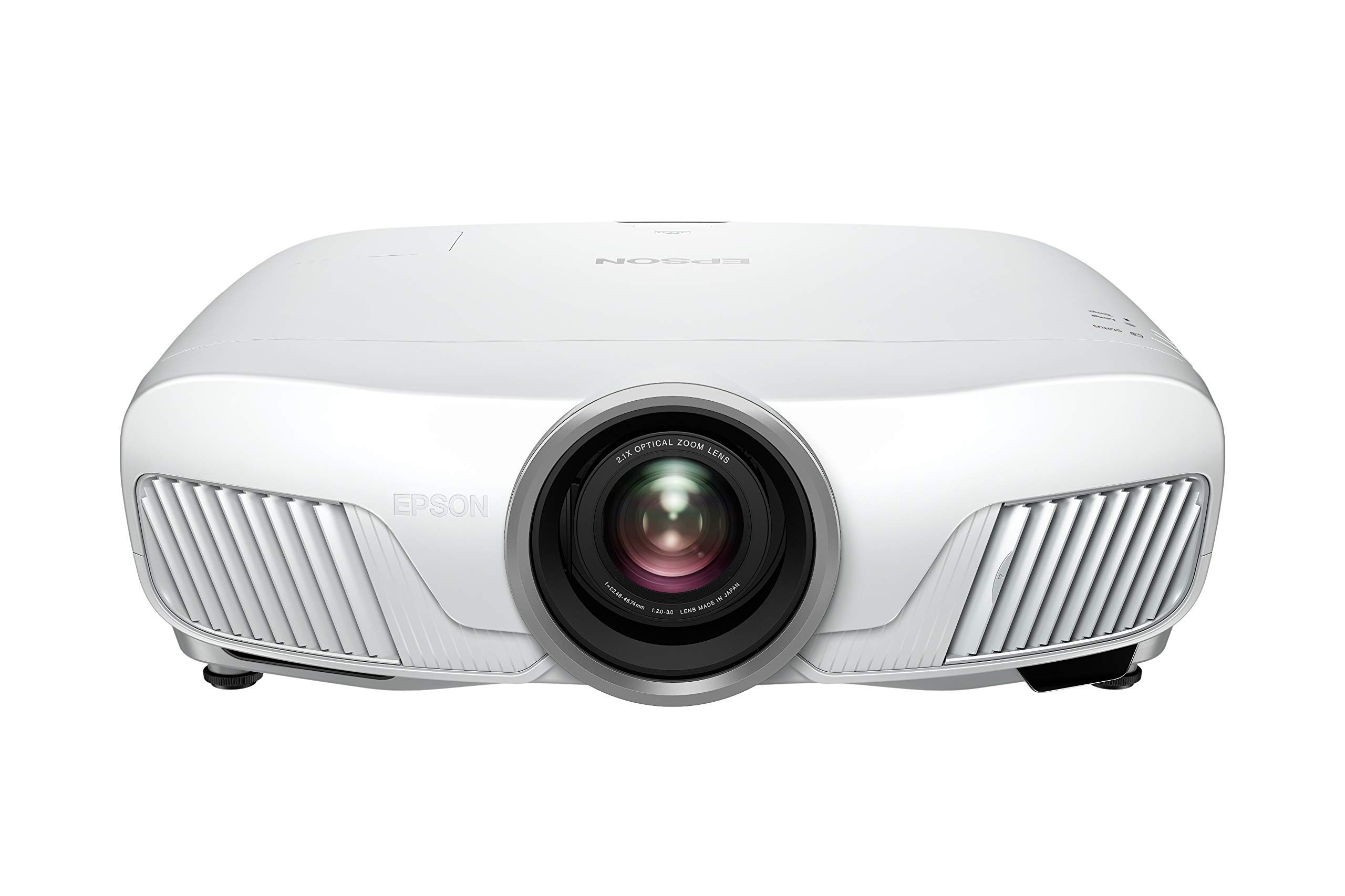 71BTKzR5kuL - Epson EH-TW7400 3LCD, 4K Pro UHD Super Resolution, 2400 Lumens, 300 Inch Display, Motorised Optics, Home Cinema Projector - White