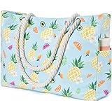 WERNNSAI Strandtaschen - 50 x 38 x 15cm Damen Strandtasche Große