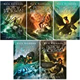 Rick Riordan PERCY JACKSON & THE OLYMPIANS Series Set Book 1-5