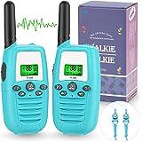 Walkie Talkie Niños, PMR446 8 Canales LCD Pantalla Función VOX Rango de 3KM, Incorporado Walkie Talkie Niñas Regalo para Niño