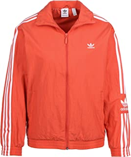 ADIDAS ORIGINALS Jacke 'Lock UP TT' in rot weiß | ABOUT YOU