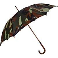 Fendo Marshal Straight Auto Open 23 Inch Large Umbrella (Military Color)
