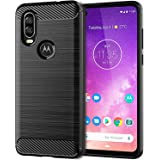 Case & Cover For Motorola One Action,Soft TPU Slim Fashion Non-Slip Protective Phone Case Cover for Motorola One Action,black