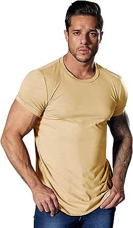Men's T-Shirt Summer Casual Short Sleeve Tops Basic Crew Neck Tee Cotton Tee Shirt Tops
