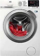 AEG L6FBA48 Waschmaschine Frontlader / Energieklasse A+++ (137,0 kWh/Jahr) / leiser Waschautomat mit 8 kg XXL ProTex Schontrommel / Waschmaschine mit Mengenautomatik und Handwaschprogramm / weiß