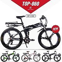 GUOWEI Rich BIT RT-860 36V 12.8AH 250W Vélo Pliant électrique vélo Tout Suspendu vélo de Ville