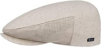Lipodo Mesh Berretto Piatto in Lino Uomo - Made Italy Cotton cap Berretti irlandesi con Visiera, Fodera, Fodera Primavera/Estate