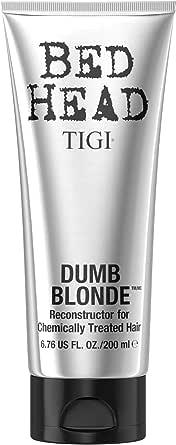 TIGI Bed Head Dumb Blonde Conditioner Ricostituente, per Capelli Trattati Chimicamente