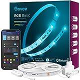 Govee LED Strip 5m Alexa Smart RGB WiFi LED Streifen, LED Lichterkette Band App Steuerung WLAN mit Alexa und Google Assistant