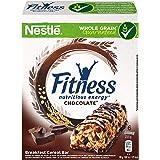 FITNESS Barretta di Cereali integrali con Cioccolato Fondente, 16 Confezioni da 6 Pezzi