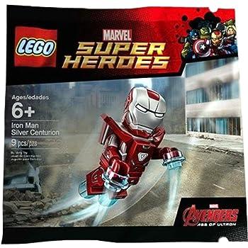 LEGO MARVEL SUPER HEROES SILVER CENTURION IRON MAN AVENGERS MINIFIGURE POLYBAG