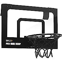 SKLZ SPMH-MIC-001 Büro Zimmer Tür Basketballkorb Pro Mini Hoop Micro Black