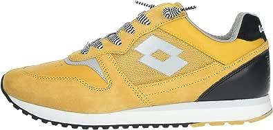 Lotto 212405 Sneakers con Lacci in CAMOSCIO E Tessuto da Uomo