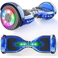 """MICROGO Hoverboard Kinder 6,5"""" Elektroroller mit Bluetooth-Lautsprechern LED-Leuchten, Geschenk für Kinder und…"""