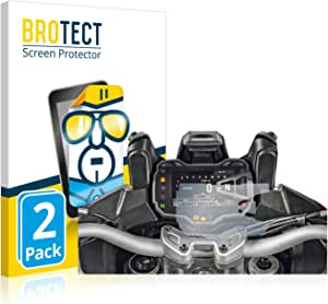 brotect Pellicola Protettiva Opaca Compatibile con Ducati Multistrada 1200S 2015 2 Pezzi Pellicola Protettiva Anti-Riflesso