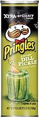Pringles Screamin' Dill Pickle Potato Crisps, 158 Grams